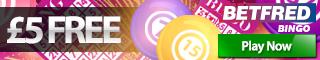 betfred mobile bingo bonus
